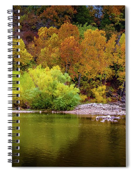 Fall Colors Of The Ozarks Spiral Notebook