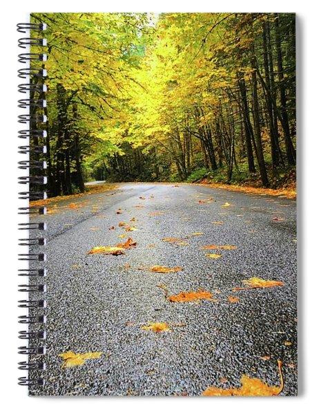 Fall Drive Spiral Notebook