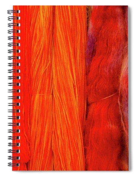 Fall Fibers 3 Spiral Notebook