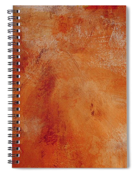 Fall Golden Hour- Abstract Art By Linda Woods Spiral Notebook by Linda Woods