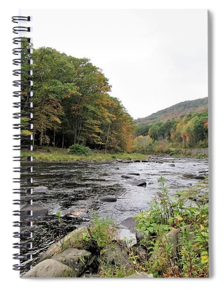 Fall In The Beaverkill Valley Spiral Notebook