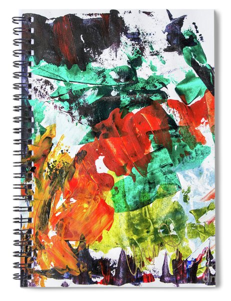 Fall Into Spring Spiral Notebook