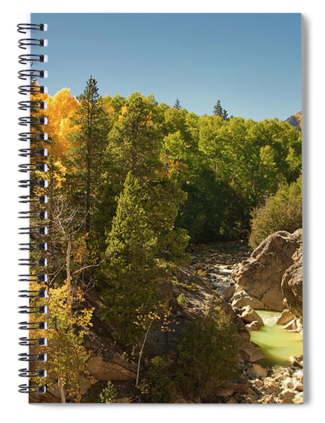 Fall On Independence Pass Spiral Notebook