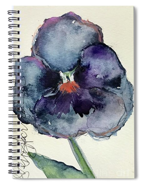 Fall Pansy  Spiral Notebook