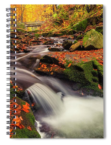 Fall Power Spiral Notebook