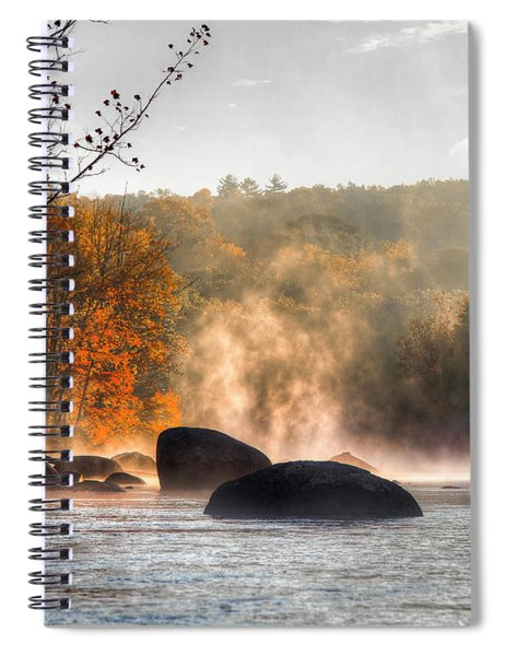 Fall Spirits Spiral Notebook