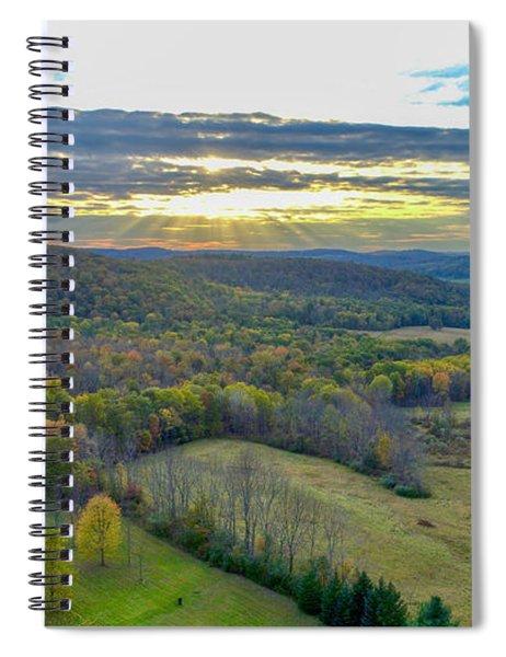 Fall Vibes  Spiral Notebook
