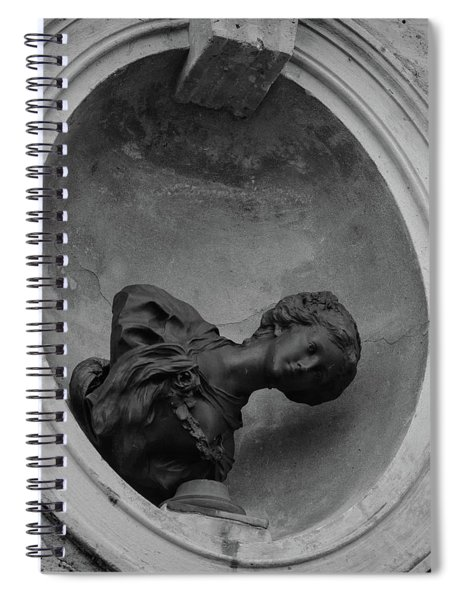 Fallen Goddess Spiral Notebook