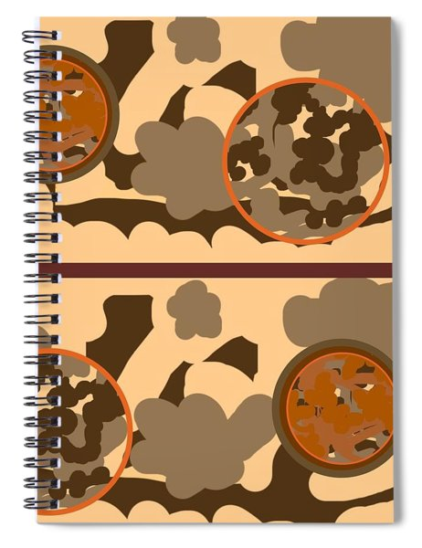 Falling Into Fall G102 Spiral Notebook