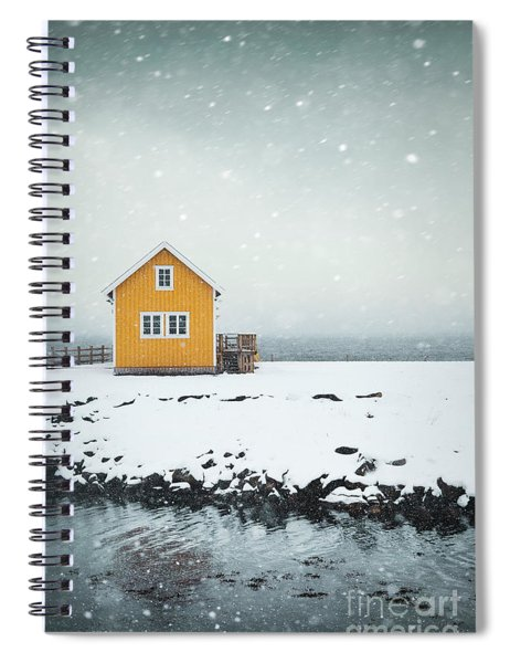 Falling Softly Spiral Notebook