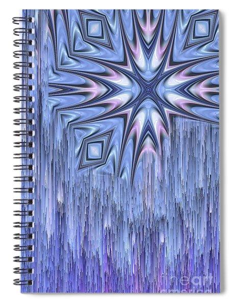 Falling Star Spiral Notebook