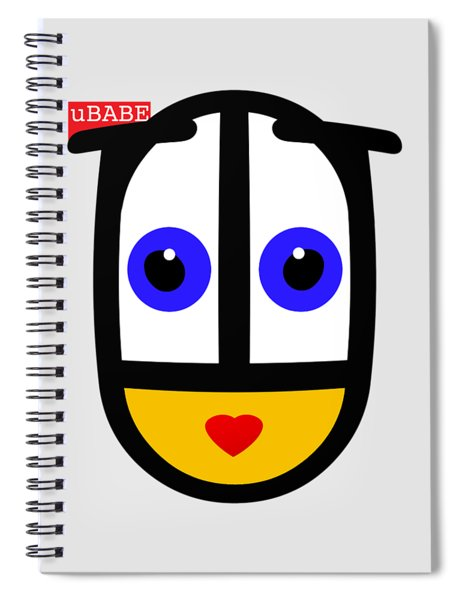 Famous Female Face Spiral Notebook