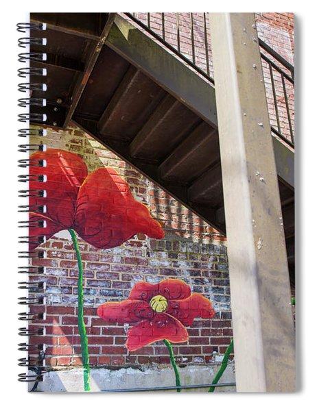 Fancy Graffiti Spiral Notebook