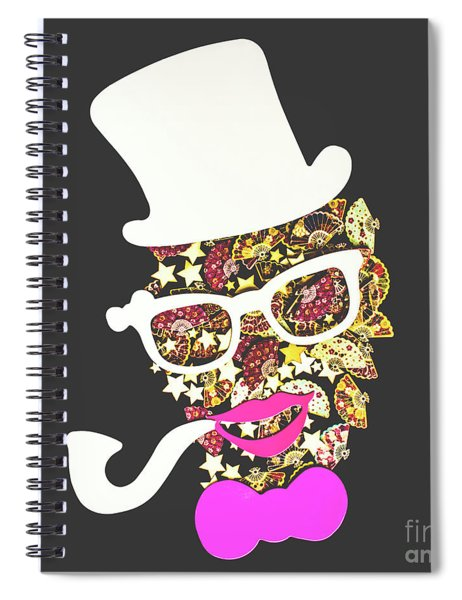 Fanfare The Clown Spiral Notebook
