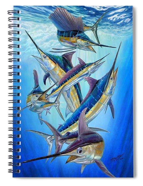 Fantasy Slam Spiral Notebook