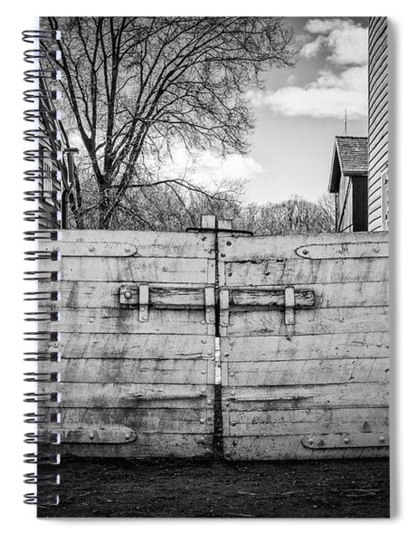 Farm Gate Spiral Notebook