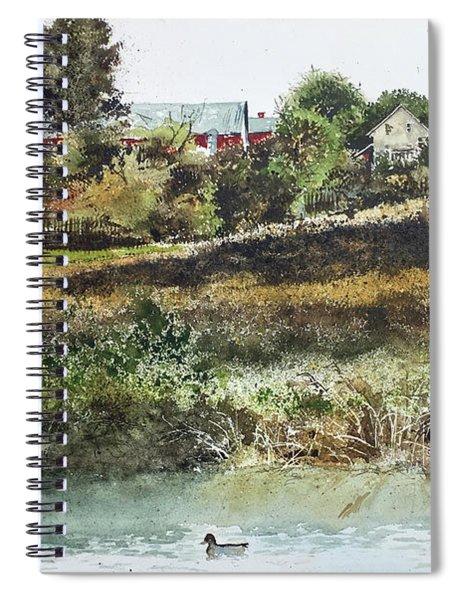 Farm Pond Spiral Notebook