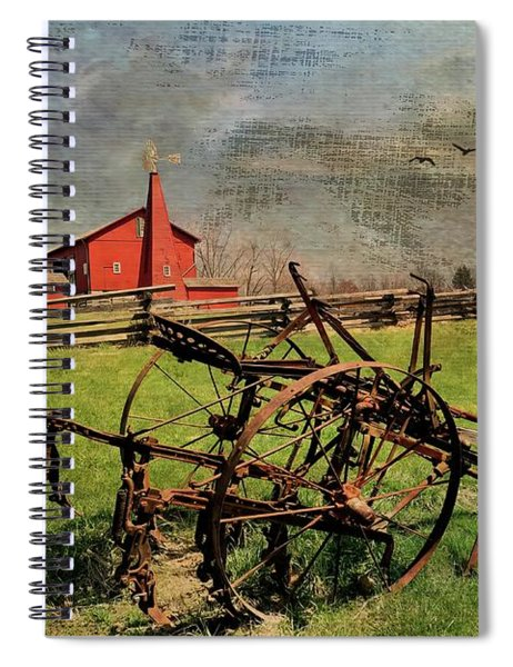 Farming In The 1880s Spiral Notebook