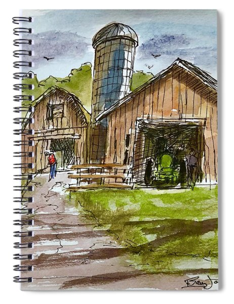 Farmland Rhapsody Spiral Notebook