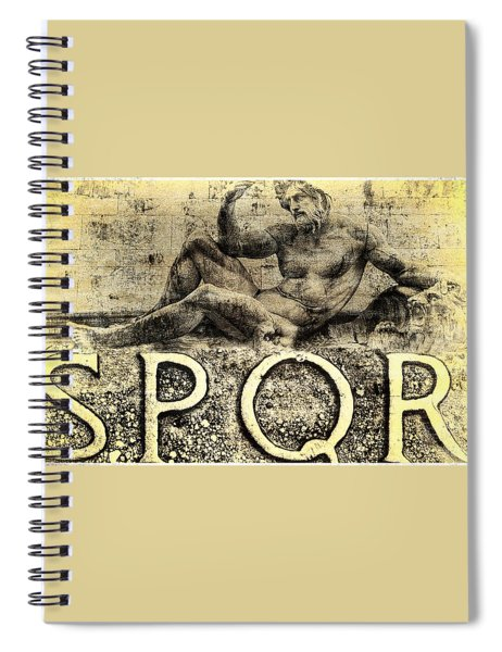 Father Of The Fatherland Spiral Notebook