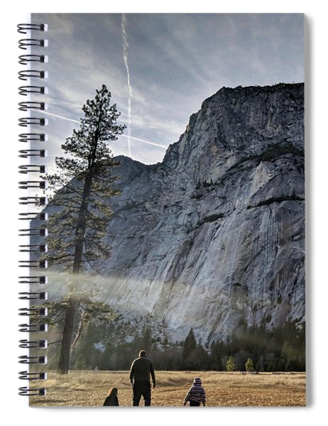 Feel Small Spiral Notebook