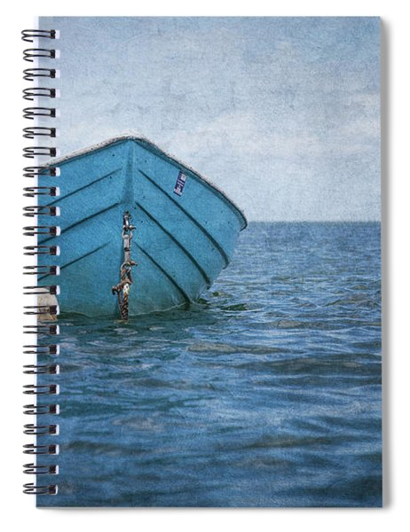 Feel The Blues Spiral Notebook