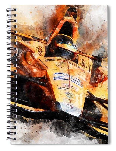 Fernando Alonso, Indy 500 - 04 Spiral Notebook