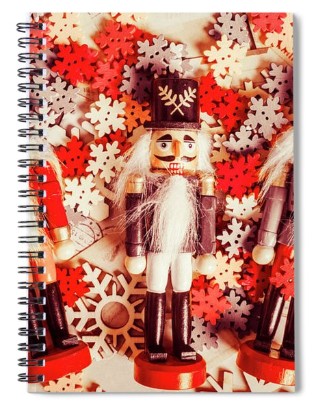 Festive Forces Spiral Notebook