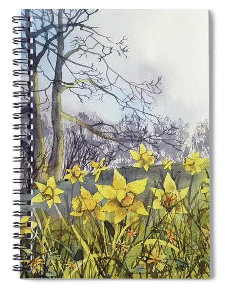 Field Of Hope At Burton Agnes Spiral Notebook
