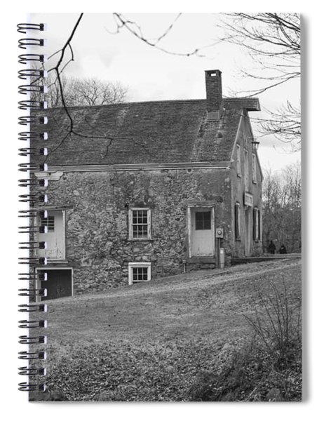 Smith's Store On The Hill - Waterloo Village Spiral Notebook