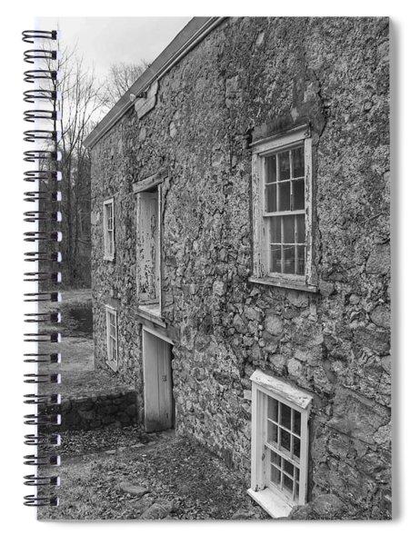 Fieldstone Workshop - Waterloo Village Spiral Notebook