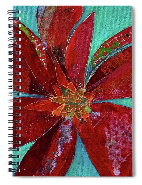 Fiery Bromeliad I Spiral Notebook