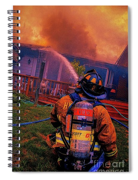 Fighting The Fight Spiral Notebook