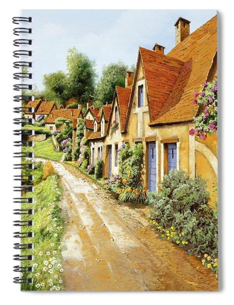 Fila Di Case Inglesi Spiral Notebook