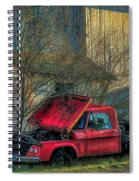 Final Resting Place Spiral Notebook