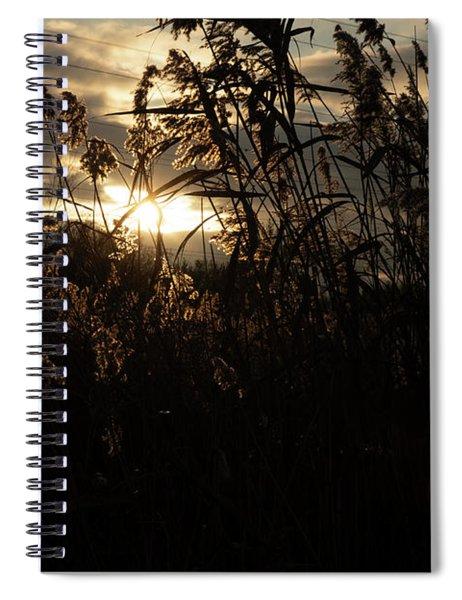 Fine Art - Dusk Spiral Notebook
