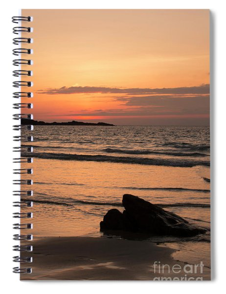 Fine Art Sunset Collection Spiral Notebook