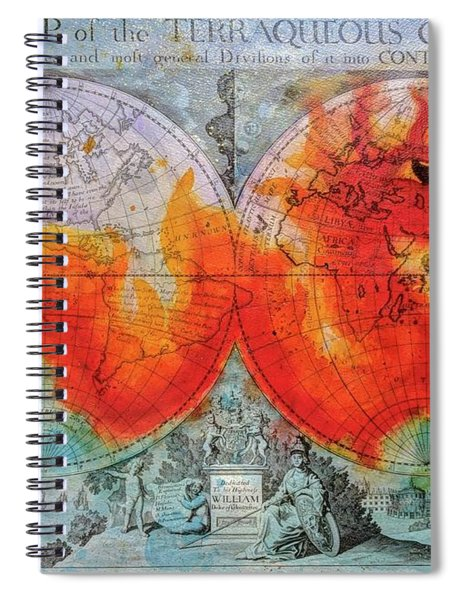 Fire Dragon  Spiral Notebook
