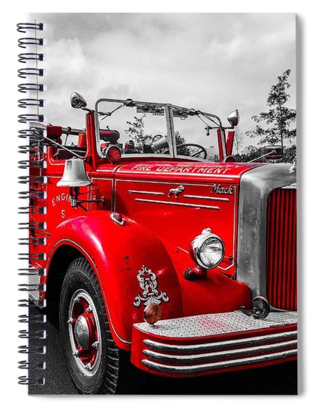 Fire Engine Spiral Notebook
