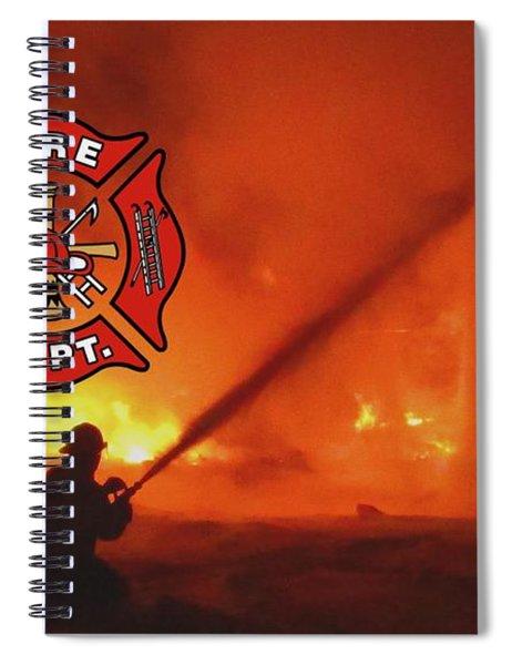 Fire Fighting 5 Spiral Notebook