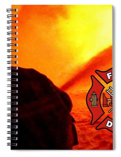 Fire Fighting 6 Spiral Notebook