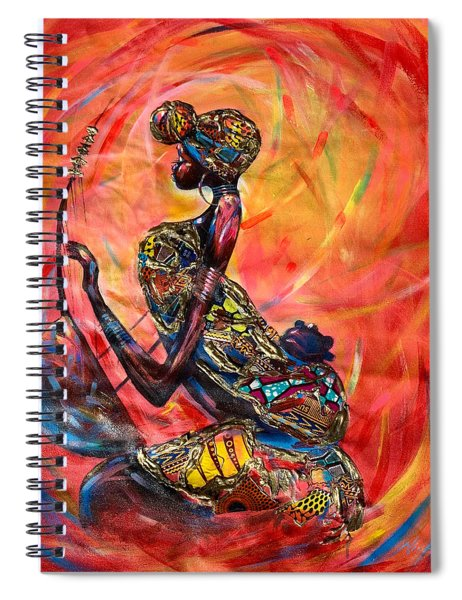 Fire Music Spiral Notebook
