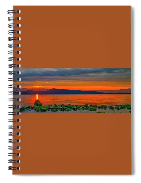 Fire Rock Spiral Notebook