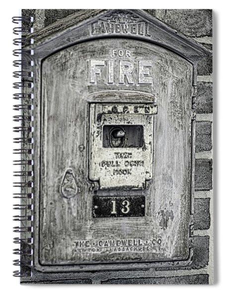 Firebox Spiral Notebook