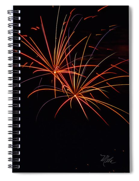 Fireworks Dual Spiral Notebook
