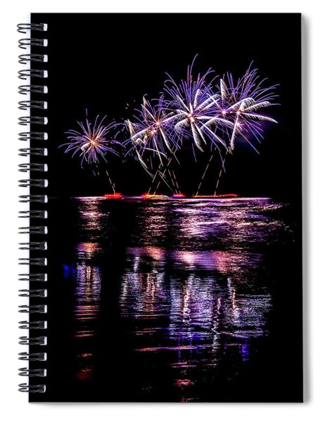Fireworks Frenzy Spiral Notebook