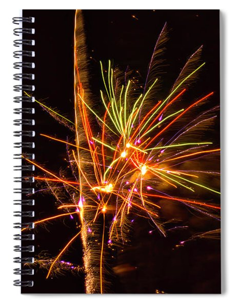 Fireworks Happy New Year Spiral Notebook
