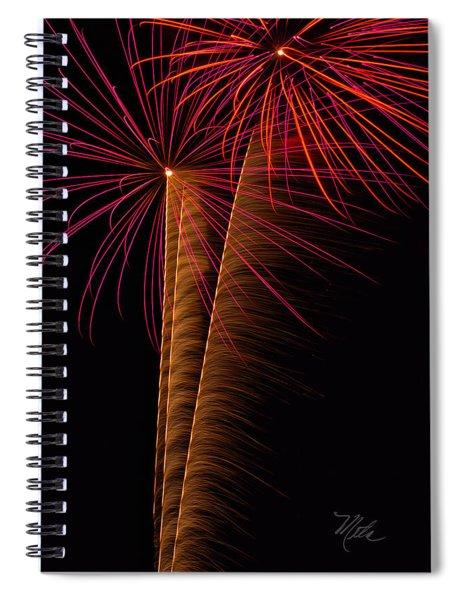 Fireworks Zoom Spiral Notebook