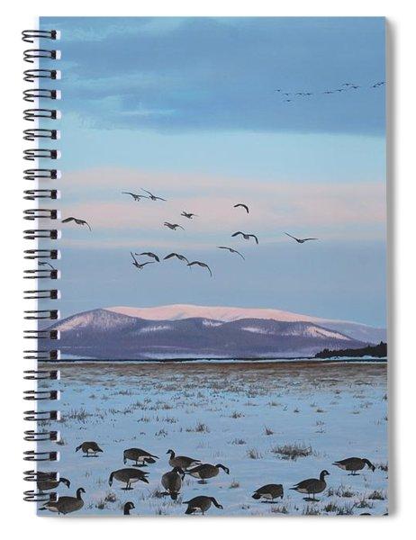 First Arrivals Spiral Notebook
