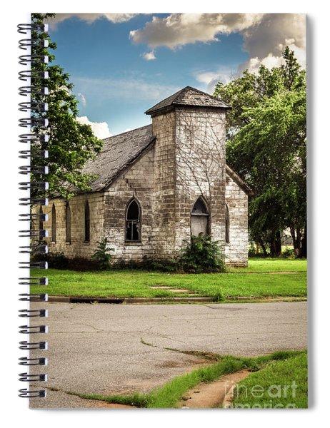 First Baptist Church Colored Spiral Notebook